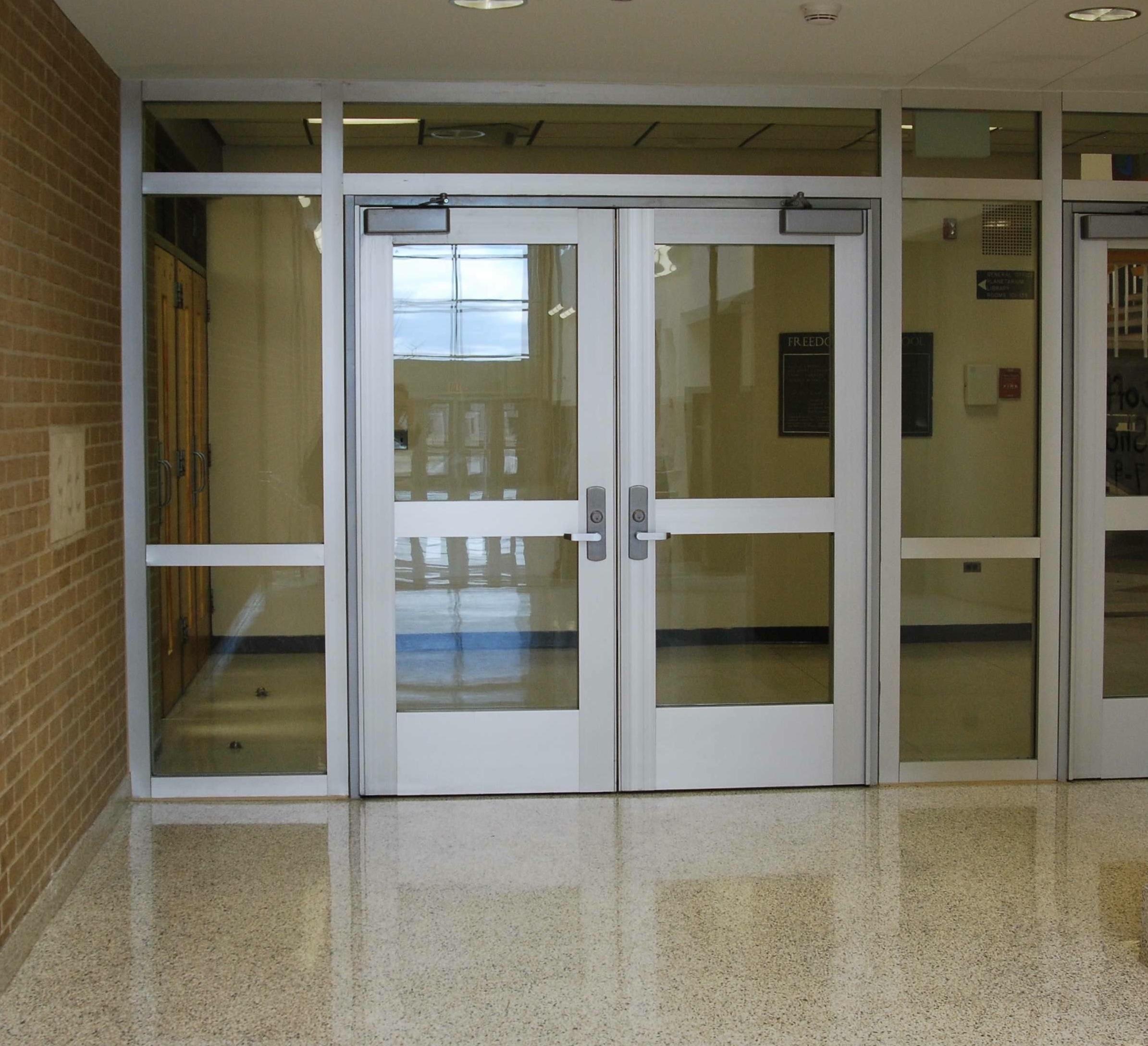 School Entrance Doors : School door download this image as