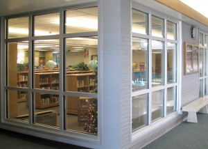 Renovated counseling center, North Layton Junior High, Utah